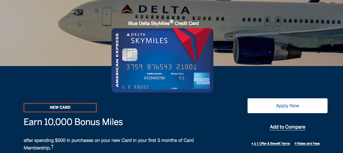 American Express Introduces Blue Delta SkyMiles Credit Card - Moore ...
