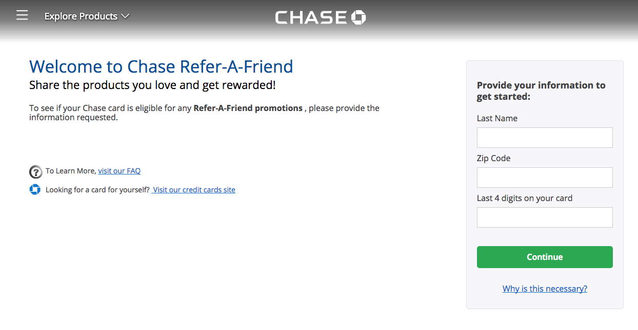 Refer Friends To Chase Cards Via The Mobile App - Moore With Miles