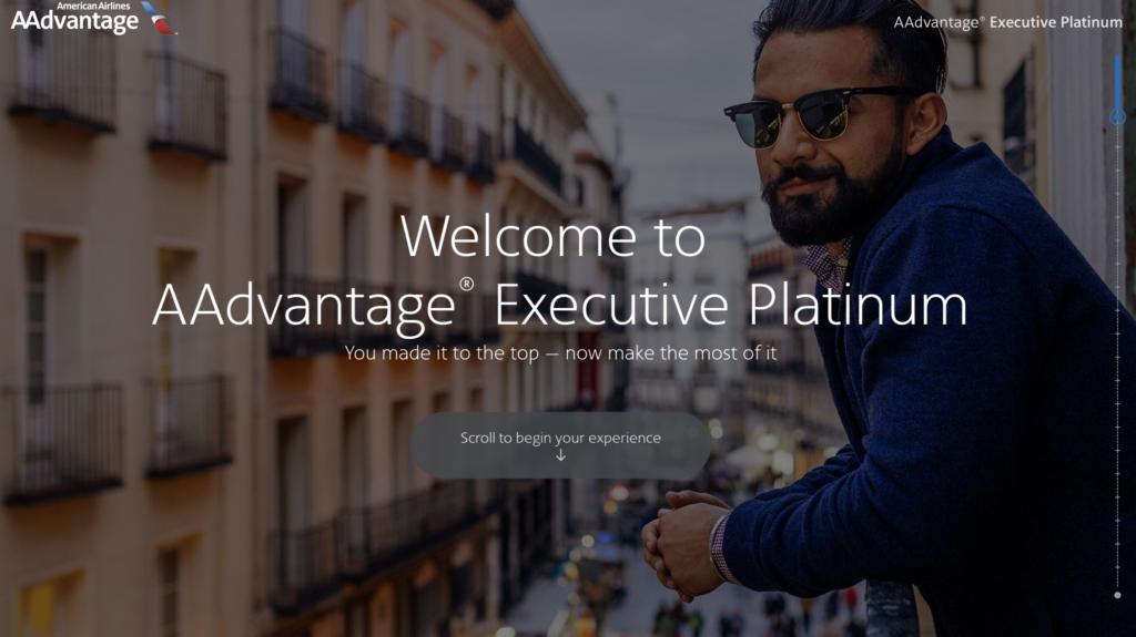 American Airlines New Aadvantage Elite Status Websites